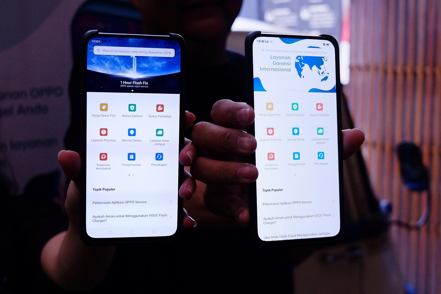 Oppo Luncurkan Aplikasi Oppo Service Trendtech Indonesia