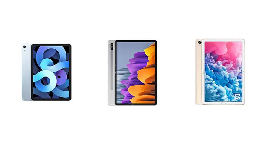 iPad Air 4 vs Samsung Galaxy Tab S7 vs Huawei MatePad 10.8 ...